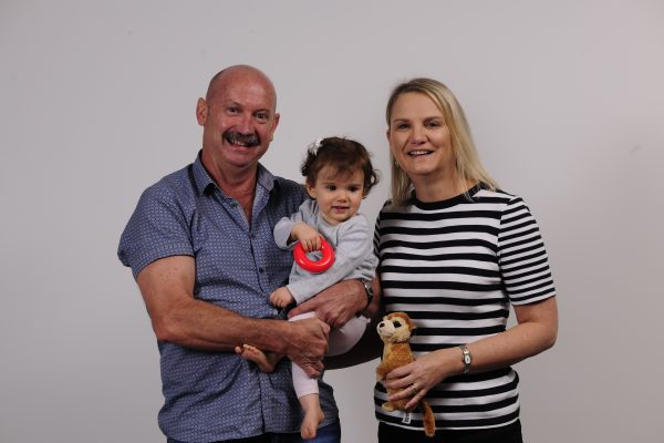 Grandparents with small child
