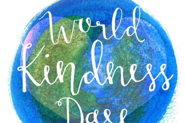 World kindness day globe logo