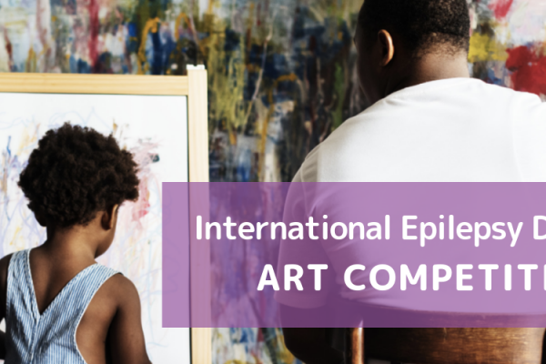 Art competition image of child and man painting